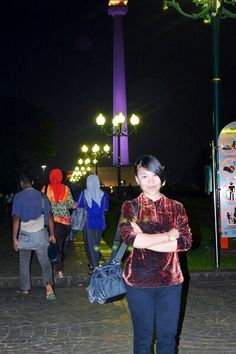 #Night #Evening #Monas #Jakarta #Indonesia #Girl #Me #Cool
