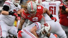 Grading the Badgers: Wisconsin's loss to Ohio State football - Bucky's Quarter Buckeyes Football, College Football Teams, Ohio State Football, Ohio State University, Ohio State Buckeyes, American Football, Oklahoma Sooners, Best Running Backs, Kobe Bryant Michael Jordan