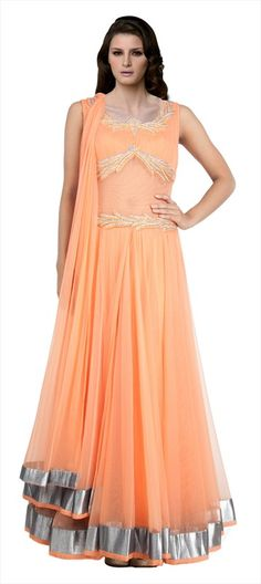 411911: #SalwarKameez #Monotone #Pastel #partywear #wedding #trends2015 #gosf2014 #sale #Onlineshopping