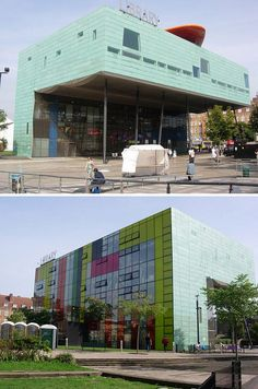 Peckham Library, London  http://flavorwire.com/335866/bizarre-looking-libraries-from-all-over-the-world/8/