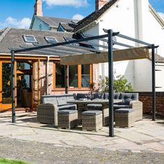 Canopy Frame, Sun Canopy, Pergola Canopy, Backyard Pergola, Gazebo, Small Courtyard Gardens, Small Courtyards, Jacuzzi Outdoor, Garden Canopy