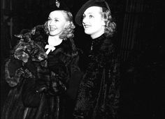 Ginger Rogers and Carole Lombard
