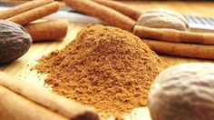 A blend of  cinnamon, nutmeg, ginger and cloves. This will make enough for one recipe of pumpkin pie. But you could increase amounts to keep a mix on hand.
