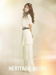 Kim So Eun is a spring goddess for 'Heritage Muine' | allkpop.com