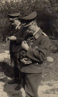 Nazis with cats