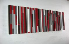 Modern Wood Sculpture Wall Art by RusticModernDesigns on Etsy, $250.00