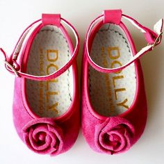 Le Petit Tom Lucy Rosebud 1L  The roses on these flats are adorably girly.  Image Photo Credit: Le Petit Tom  €58