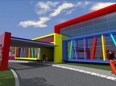 Escola Infantil | Rayes Arquitetura #fachadasarquitectura