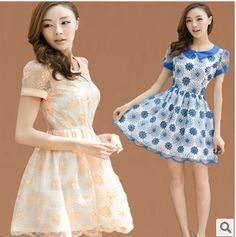 e3dd569038006 Aliexpress.com   Buy RX62013 women s summer organza embroidery lace plus  size chiffon one piece dress from Reliable newarrivals fashion shoes  suppliers on ...