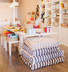 Cheery & colorful little shop