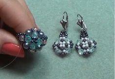Lots of Free Jewelry Making Tutorials & Lessons: FREE Elegant Beaded Ring Making Tutorial