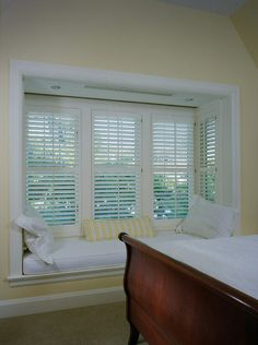 How your shutters are designed will depend on your needs/wants and the style of your windows.