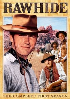Rawhide aired from 1959 to 1965. It starred Clint Eastwood.