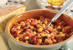Black Bean, Corn and Turkey Chili - Campbell's Kitchen