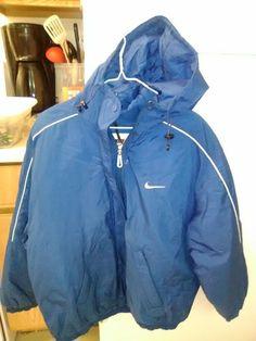 Nike Winter Jacket on Mercari Nike Winter Jackets, Rain Jacket, Windbreaker, Swag, Thoughts, Zip, Fashion, Moda, Fashion Styles