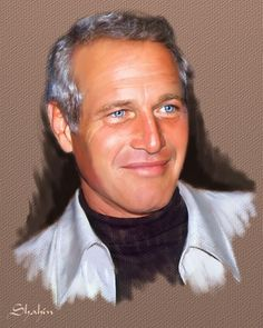 Paul Newman by shahin