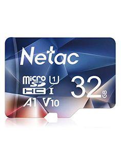 Netac 32G Scheda Micro SD, Scheda di Memoria A1, U1, C10, V10, FHD, 600X, UHS-I velocità Fino a 90/10 MB/Sec(R/W) Mic... Linux, Videocamera, Adaptador Usb, Hub Usb, Switch, Gopro, Smartphone, Samsung Galaxy, Screensaver