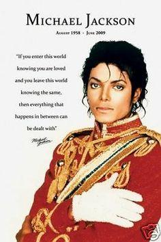 """MICHAEL JACKSON POSTER """"LOVED"""" LICENSED """"BRAND NEW"""" - http://www.michael-jackson-memorabilia.co.uk/?p=7523"""
