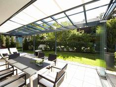 Inspirasjon til uteplass, terrasse, veranda og balkong | uteDESIGN Atrium, Conservatory, More Pictures, Inspiration, Living Spaces, Outdoor Structures, Patio, Outdoor Decor, Modern