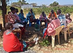 Historically Maasai women have experienced high levels of marginalisation. To earn income, these Maasai women's are part of a milk cooperative who sell milk from their husband's cows to a dairy.