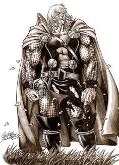 Thor by Rodney Buchemi