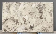 Alpine White is a Granite with a polished finish. This attractive Brazilian stone has a body of cream with areas of greige to darker tones of grey. Alpine W White Granite Countertops, Kitchen Countertops, Texas And Oklahoma, Alpine White, Engineered Stone, Vintage World Maps, Kitchen Ideas, Kitchen Design, Modern Kitchens