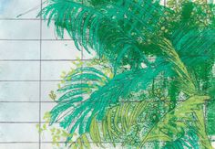 PALMHOUSE Collection Palm Trees Artwork, Kew Gardens