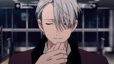 """Rewatching Yuri on ice today, Viktor totally confessed his love for Yuri in the competition against the other Yuri.   Yuri describes himself as a pork cutlet bowl, when he asks Viktor to watch him, Viktor responds with """"of course, I love pork cutlet bowls"""" he's saying he loves Yuri"""