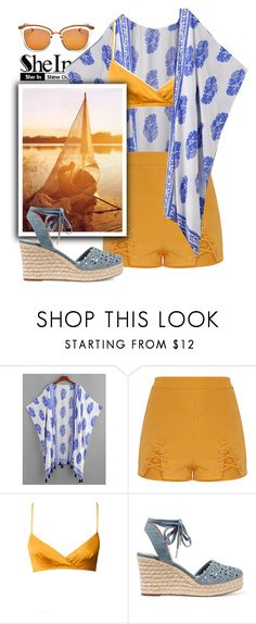 """""""Sail away"""" by grizmosis ❤ liked on Polyvore featuring Grace, MICHAEL Michael Kors and Le Specs"""