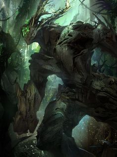 """Non Human Being-Monster-Hybrid-Animal-Beast-Claws-Paws-Obscure. Find more on the """"Creativity+Fantasy"""" board. Dark Fantasy Art, Fantasy Artwork, Fantasy Kunst, Fantasy Forest, Fantasy Races, Monster Concept Art, Monster Art, Forest Creatures, Magical Creatures"""