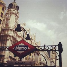 The metro station closest to our hotel
