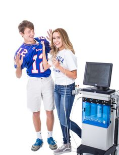 Hydrafacial MD is great for keeping teens skin clear.
