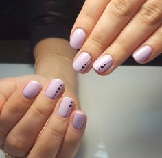 "This Is the Coolest Negative ""Space"" Manicure We've Ever Seen in 2020 Fancy Nails, Pink Nails, Cute Nails, Pretty Nails, Acrylic Nails, Gel Nails, Nagellack Design, Minimalist Nails, Manicure E Pedicure"