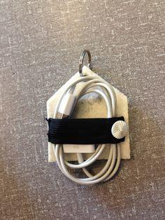 Hold styr på oplader/ledninger til iPad og iPhone m.m.