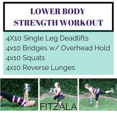 LOWER BODYSTRENGTH WORKOUT