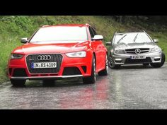 New Audi RS4, Old Audi RS4s, New RS4 v C63. Phew. - CHRIS HARRIS ON CARS - YouTube