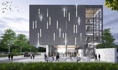 Based in Winnipeg, Cibinel Architecture has grown into a respected design studio with an international reputation for leading edge design. School Building Design, School Design, Study Architecture, Residential Architecture, Public Library Design, Render Image, Facade Design, Edge Design, Innovation