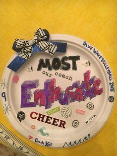 purple heart award volleyball paper plate awards pinterest
