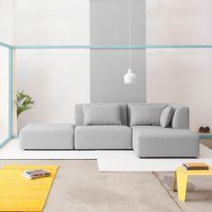 Modulare Sofas für moderne Räume von FABRIK