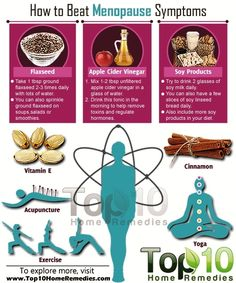 Here is How to Beat Menopause Symptoms. Take one tablespoon of ground flaxseed two or three times daily with lots of water. You can also sprinkle ground flaxseed on soups, salads or smoothies. Top 10 Home Remedies, Natural Home Remedies, Natural Healing, Natural Life, Holistic Healing, Natural Living, Menopause Relief, Menopause Symptoms, Menopause Diet