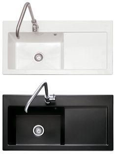 Caple AVALON 100 Ceramic Inset Sink. £265 (plus £60 for various plumbing?)