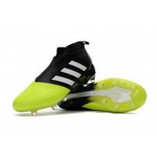 meet d996a 3966a Adidas ACE 17+ Purecontrol FG Soccer Cleats - YellowCore BlackWhite Site