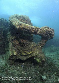 BAIAE Italy statue of Polifemo late Roman