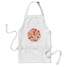 Bouquet of Flowers Adult Apron - kitchen gifts diy ideas decor special unique individual customized