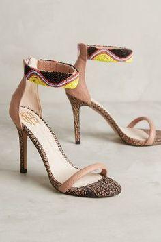 House of Harlow Vanessa Heels Dusty Pink Heels #anthrofave