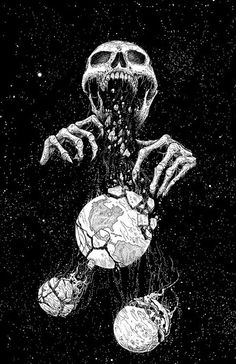 Art by Mark Riddick.