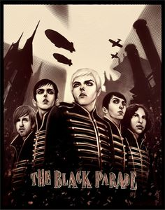 Art print The Black Parade  My Chemical Romance by xiudama on Etsy