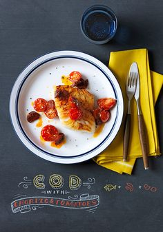 A simple cod recipe for those of you who only have 20 minutes to make dinner.