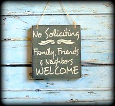 Welcome Sign Housewarming Gift No by SawdustAndSunshowers on Etsy