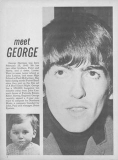 meet George  - just because :-)